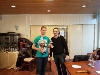 Roland Daamen wint Snelschaaktoernooi 2017